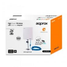 WIRELESS ADAPTADOR USB APPROX EXTERNO 26DBI APPUSB26DB